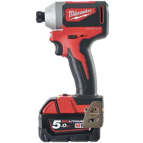 MILWAUKEE Brushless Impact Driver M18 BLID2-502X - 2 batteries 5.0 Ah - 1 charger - 4933464520