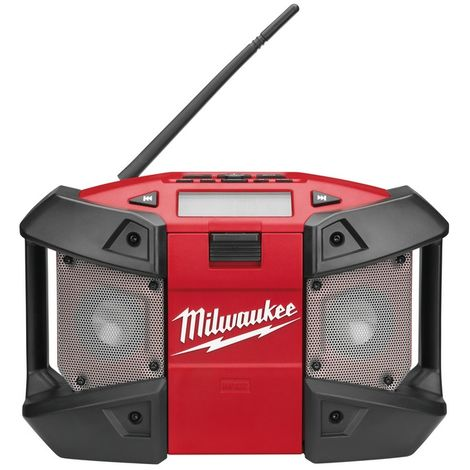 Milwaukee C12JSR-0 12V Sub-Compact Radio with AUX Input (Body Only)
