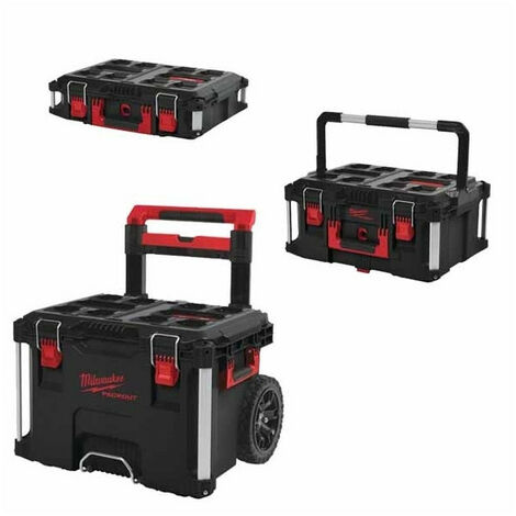 6 compartiments rouge plastique Atelier Chariot Trolley Trolley Outil Trolley métal
