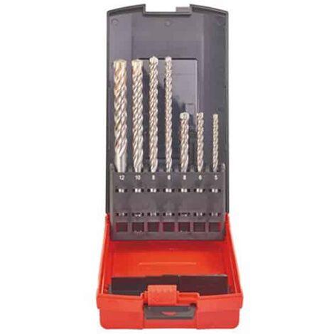 MILWAUKEE Coffret 7 forets MX4 SDS-Plus 4 taillants - 4932451464
