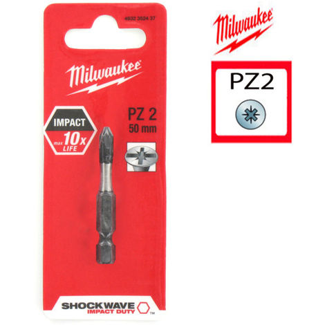 """main image of """"MILWAUKEE Embout PZ2 - Longueur 50 mm"""""""