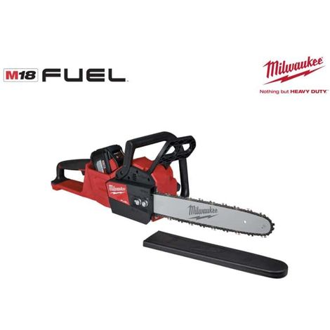 MILWAUKEE FUEL M18 FCHS-121 chainsaw - 1 battery 12.0Ah Red Li-ion - 1 charger 4933464223