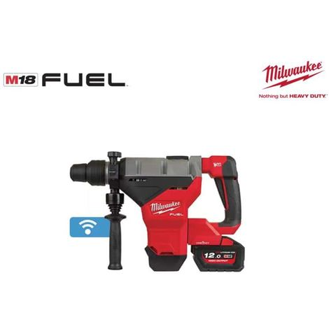 MILWAUKEE FUEL M18 FHM-121C One-Key SDS-MAX hammer drill - 1 battery 18V  12 0 Ah - 1 charger M12-18FC 4933464894