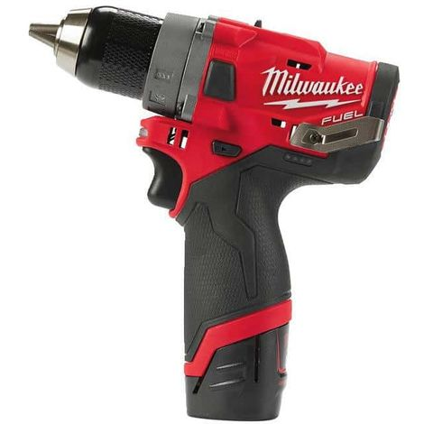 MILWAUKEE FUEL screwdriver drill M12 FDD-202X - 2 batteries 12V 2.0 Ah - 1 charger C12C 4933459816