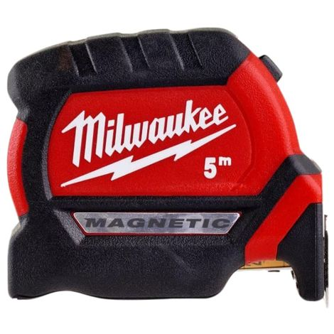Milwaukee Hand Tools GEN III Magnetic Tape Measure 5m (Width 27mm) (Metric only)