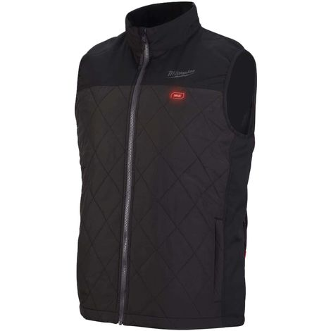 Milwaukee Heated Jacket Sleeveless M12 HBWP-0 Size XXL 4933464374 without battery and charger