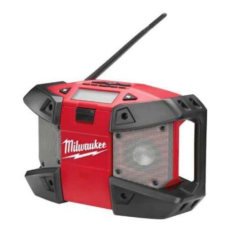 Milwaukee Job Site Radio without battery 12V C12 JSR 0 4933416365