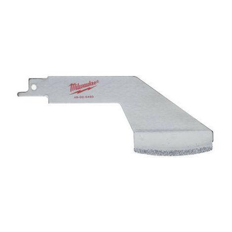 MILWAUKEE Lame scie sabre de déjointage 60 mm