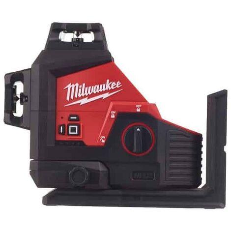 "main image of ""MILWAUKEE Laser 3 lignes vert 12V Solo - M12 3PL-0C - 4933478103"""