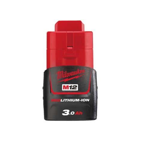 Milwaukee M12 Battery B3 REDLITHIUM 12V 3.0Ah Li-Ion 4932451388