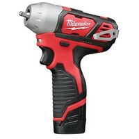 Milwaukee M12 Biw14 0 Compact 1 4in Impact Wrench 12 Volt