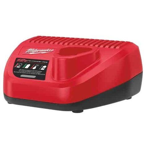 Milwaukee M12- C12C Chargeur pour batteries 12V Li-Ion (4932352000)