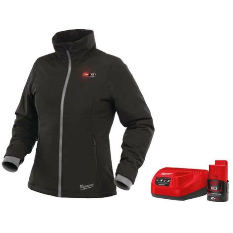 Milwaukee M12 HJ LADIES-0 Heavy Duty Warming Jacket size S 4933451601 - M12 2.0Ah Battery and Charger C12C 4933451900