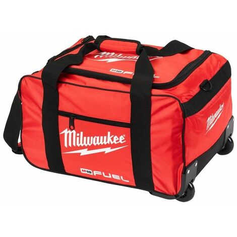 "Milwaukee M18 19"" Fuel Large Contractors Heavy Duty Carry Tool Bag On Wheels"