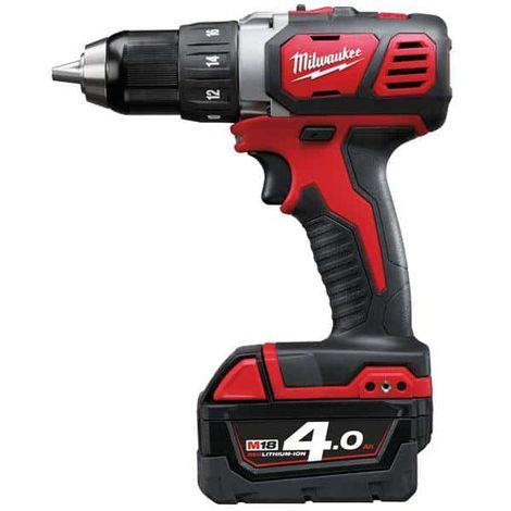 MILWAUKEE M18 BDD-402X screwdriver drill - 2 battery 18V 4.0Ah - 1 charger M12-18C 4933446198