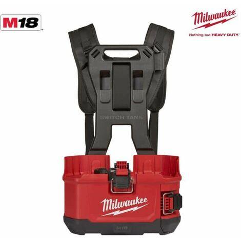 MILWAUKEE M18 BPFPH-401 pulverizador de mochila - 1 batería 18V 4.0 Ah - 1 cargador - arnés 4933464962