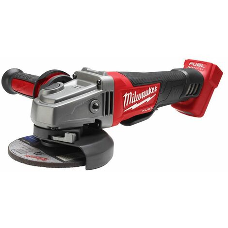 Milwaukee M18 CAG125XPD-0 18 V Batería Litio-ion Amoladora angular - 125 mm - carbón sin escobillas - interruptor de paleta