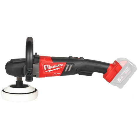 Milwaukee M18 FAP180-0 Polisseuse à batteries 18V Li-Ion (machine seule) - 180mm - variable