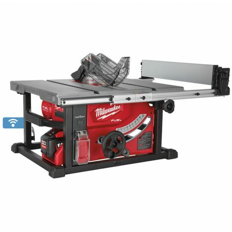 Milwaukee M18 FTS210-121B Set de scie à table batterie Li-ion 18V (1 batterie 12.0Ah) - 210mm - carbone sans balais