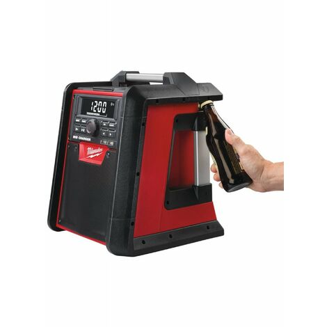 Milwaukee M18 RC-0 Radio / chargeur de chantier - 18V