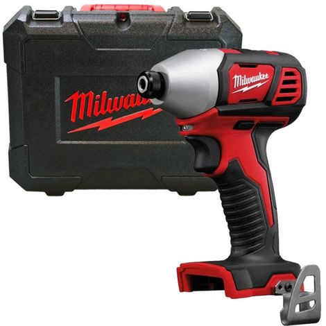 Milwaukee M18BID-0 18v 180Nm 1/4in Cordless Compact Hex Impact Driver With Case