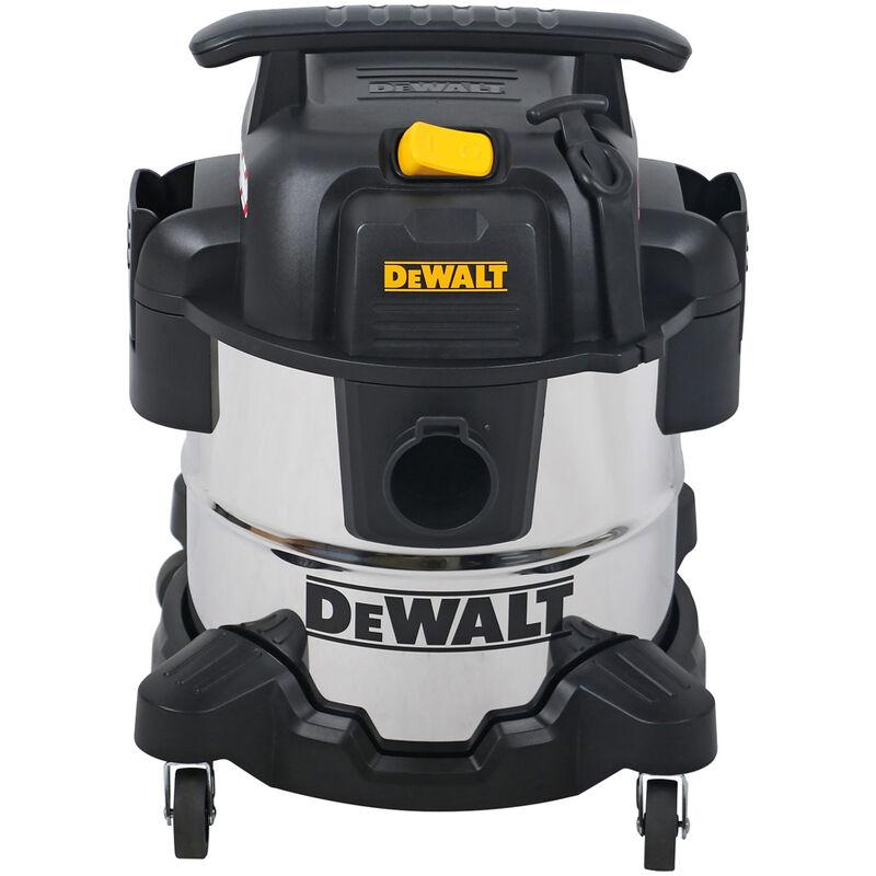 Dewalt DXV20S Stainless Steel Wet & Dry Vacuum Cleaner 1050W 240V 20L Chrome