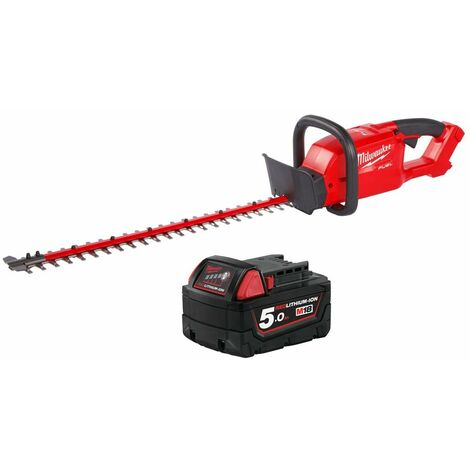 Milwaukee M18CHT 18V Fuel Hedge Trimmer With 1 x 5.0Ah Battery