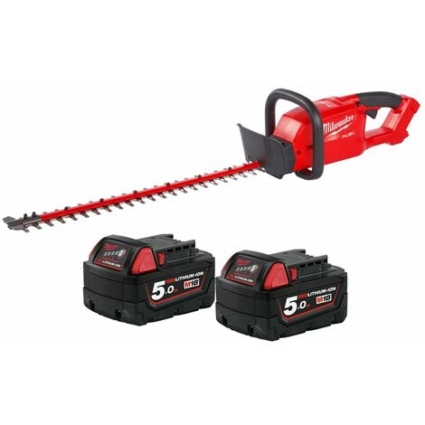 Milwaukee M18CHT 18V Fuel Hedge Trimmer With 2 x 5.0Ah Batteries