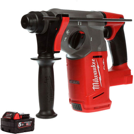 Milwaukee M18CHX-0 Fuel 18V SDS Plus Hammer Drill With 1 x 5Ah Battery