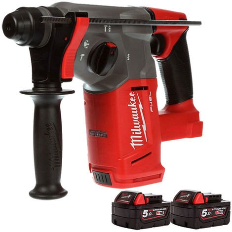 Milwaukee M18CHX-0 Fuel 18V SDS Plus Hammer Drill With 2 x 5Ah Battery