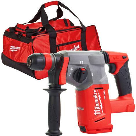 Milwaukee M18CHX-0 Fuel 18V SDS Plus Hammer Drill With M18BAG Tool Bag