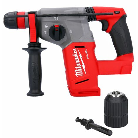 Milwaukee M18CHX 18V Fuel SDS Plus Hammer Drill With Extra Chuck