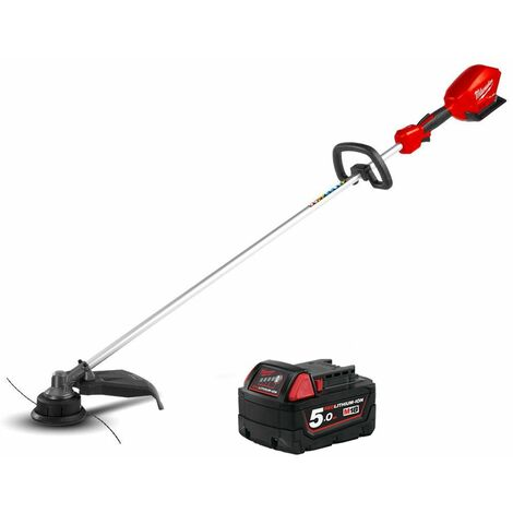Milwaukee M18CLT 18V Fuel Straight Line Trimmer With 1 x 5.0Ah Battery