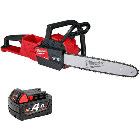 Milwaukee M18FCHS-0 18V M18 Li-ion FUEL Chainsaw With 1 x 4.0Ah Battery:18V