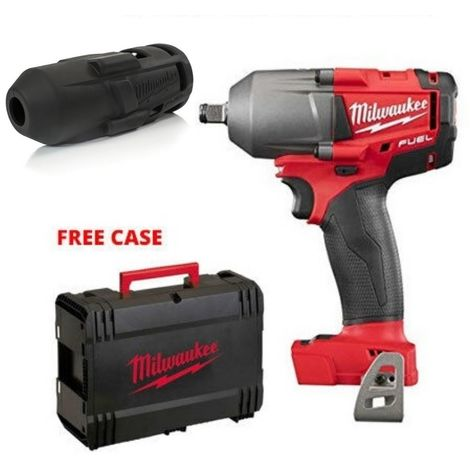 "Milwaukee M18FMTIWF12-0 M18 Mid Torque Impact Wrench 1/2"" With Sleeve"
