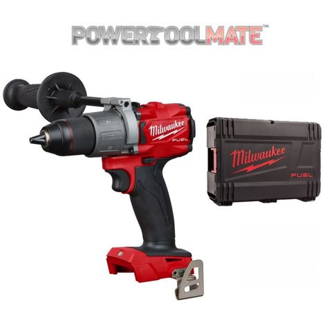"""Milwaukee M18FPD2-0 1/2"""" Fuel Percussion Drill - Bare Unit with Case"""