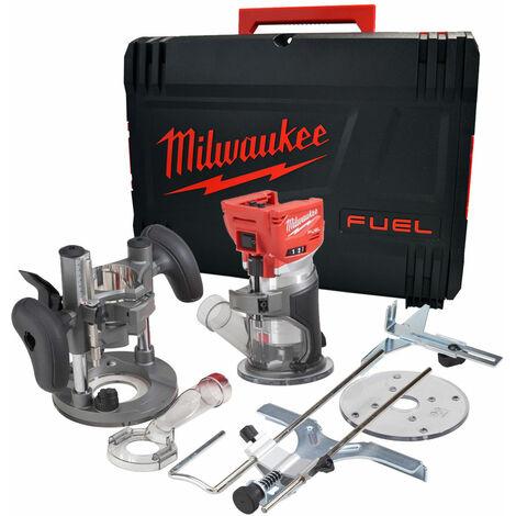 Milwaukee M18FTR-0 M18 FUEL Trim Router 18V Brushless Body Only 4933471604:18V
