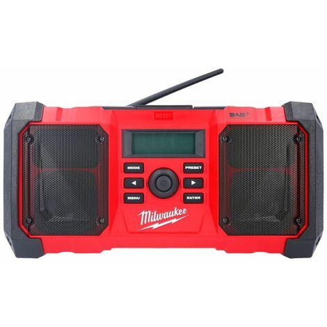 Milwaukee M18JSRDAB M18 Jobsite DAB Radio