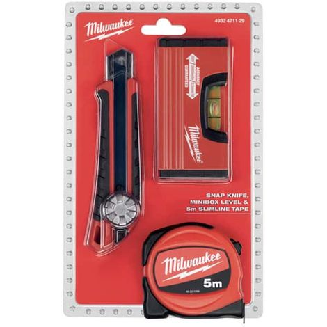 MILWAUKEE Meter Pack 5m - Cutter - Minibox level 4932471129