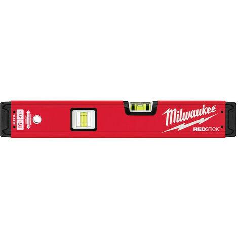 Milwaukee - Niveau tubulaire Redstick Premium 40 cm - 4932459060