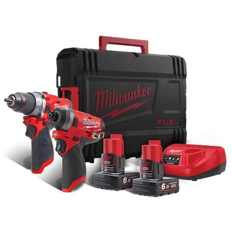 MILWAUKEE Pack 12V FPD + FID M12 FUEL FPP2A-602X - 4933459810