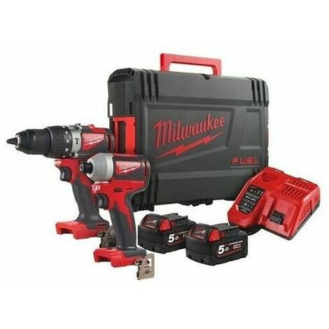 MILWAUKEE Pack 2 outils Brushless 18V BLPD2 + BLID2 M18 BLPP2A2-502X – 4933464522
