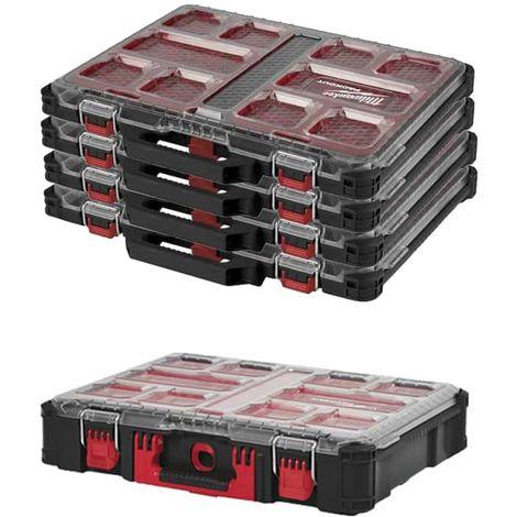 MILWAUKEE PACKOUT 4 Organizers 10 thin lockers - Organizer 10 thick lockers