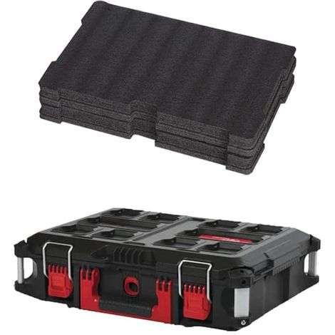 MILWAUKEE PACKOUT Carrying case 40L Size 2 - Customizable insert