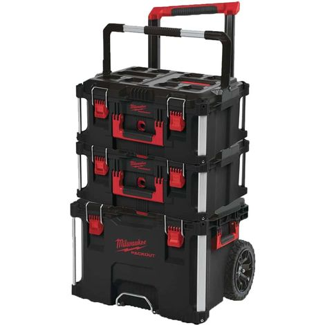 MILWAUKEE PACKOUT Trolley Carrying case - 2 Carrying cases 62L Size 3