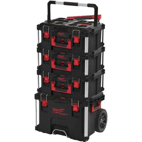 MILWAUKEE PACKOUT Trolley Carrying case - 3 Carrying cases 62L Size 3
