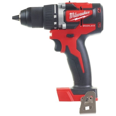 Milwaukee - Perceuse visseuse compacte BRUSHLESS 18 V sans batterie ni chargeur 13 mm 60 Nm - M18 CBLDD-0