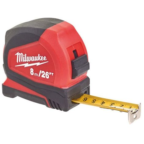 Milwaukee Pro Compact Tape Measure 8m/26ft (Width 25mm)