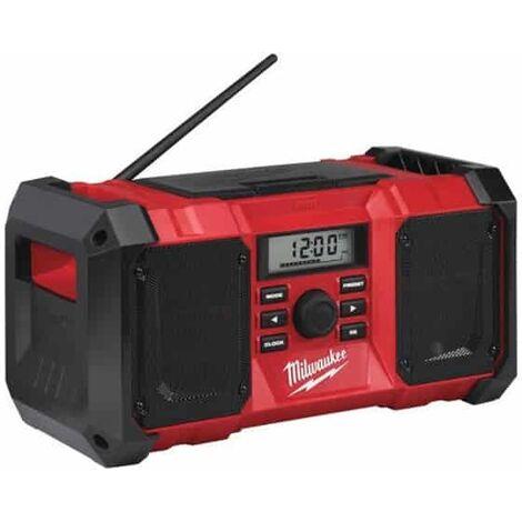 MILWAUKEE Radio de chantier M18 JSR-0 - 4933451250 solo
