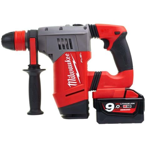 MILWAUKEE SDS-Plus FUEL CHPX-902X Drill - 2 batteries 18V 9.0Ah - fast charger M12-18FC 4933451469